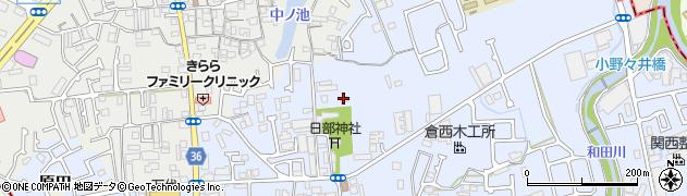 楠竜院周辺の地図