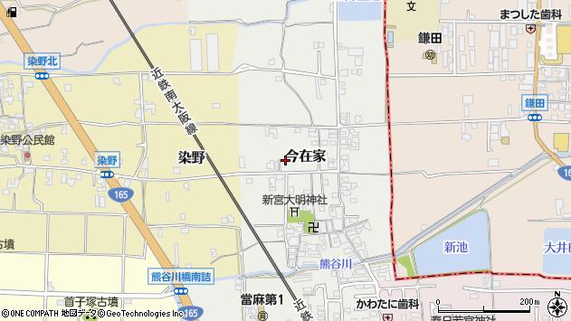 〒639-0274 奈良県葛城市今在家の地図