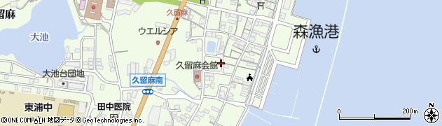 兵庫県淡路市久留麻(畠田浜)周辺の地図
