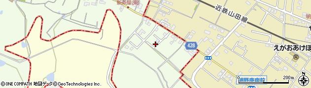 三重県多気郡明和町新茶屋周辺の地図