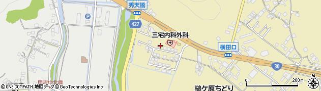 岡山県玉野市槌ケ原周辺の地図