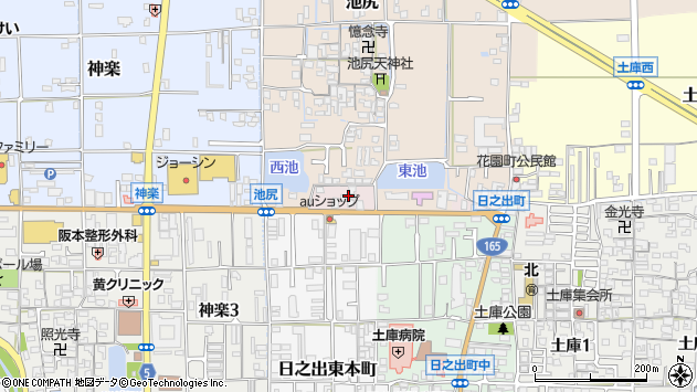 〒635-0022 奈良県大和高田市日之出町の地図