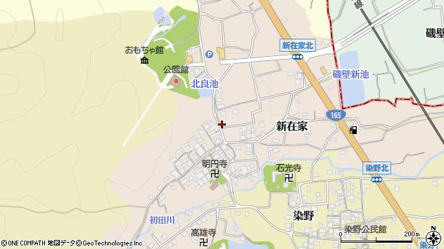 〒639-0272 奈良県葛城市新在家の地図