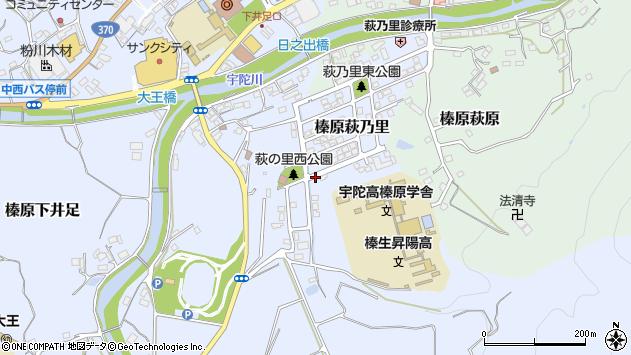 〒633-0221 奈良県宇陀市榛原萩乃里の地図