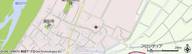 三重県松阪市法田町周辺の地図