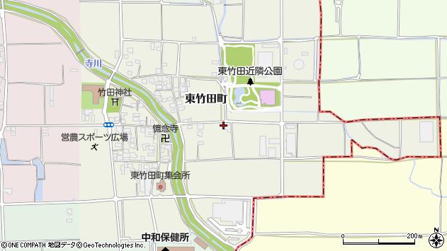 〒634-0002 奈良県橿原市東竹田町の地図