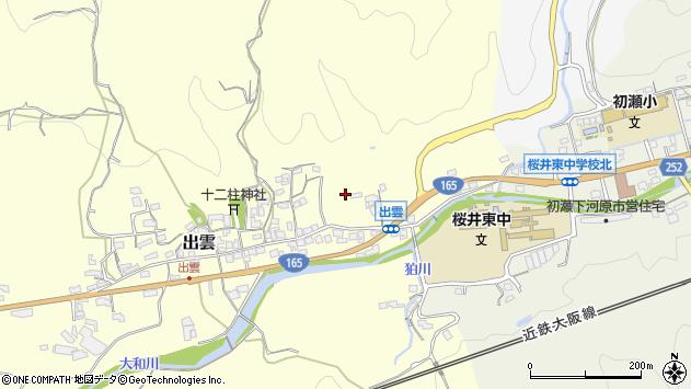 〒633-0122 奈良県桜井市出雲の地図