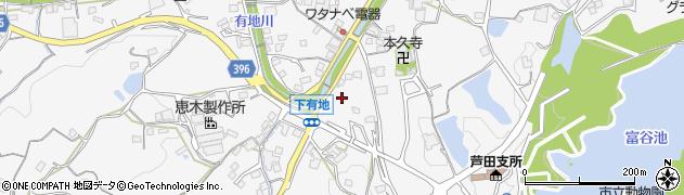 広島県福山市芦田町周辺の地図