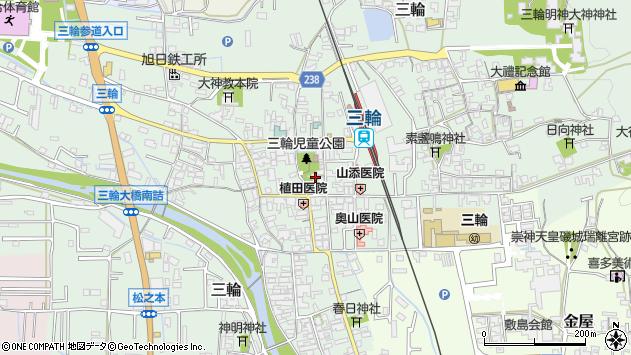 奈良県桜井市三輪 郵便番号 〒633-0001:マピオン郵便番号