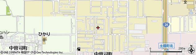 奈良県橿原市小槻町周辺の地図