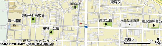 岡山県倉敷市東塚周辺の地図