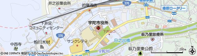 奈良県宇陀市周辺の地図