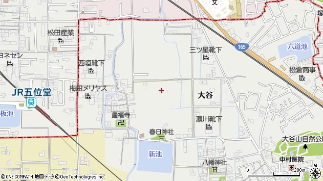 〒635-0076 奈良県大和高田市大谷の地図