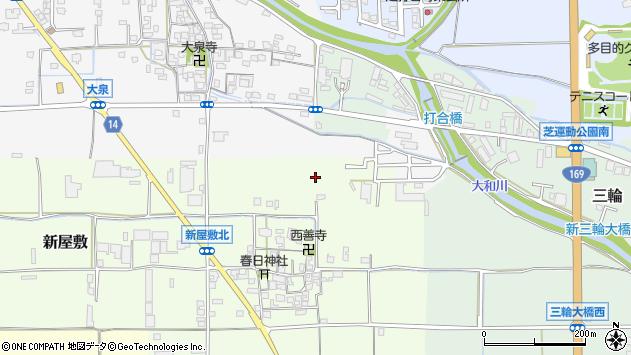 〒633-0075 奈良県桜井市新屋敷の地図