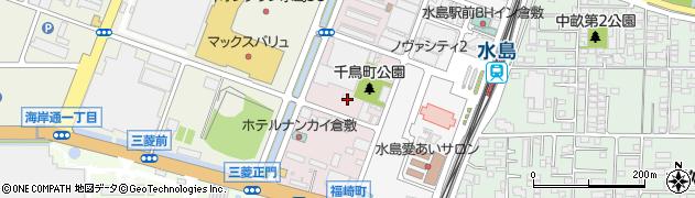 岡山県倉敷市水島西千鳥町周辺の地図