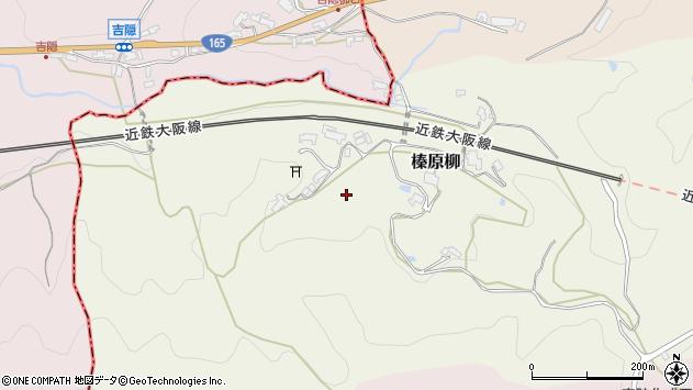 〒633-0246 奈良県宇陀市榛原柳の地図