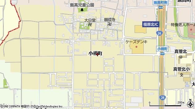〒634-0846 奈良県橿原市小槻町の地図