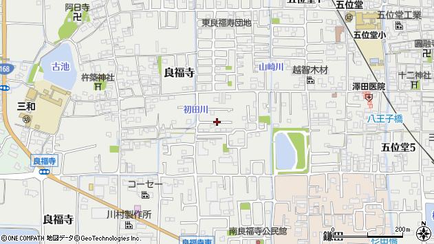 〒639-0235 奈良県香芝市良福寺の地図