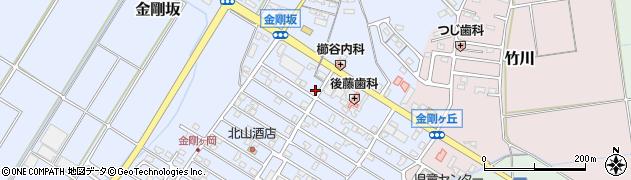 三重県多気郡明和町金剛坂周辺の地図