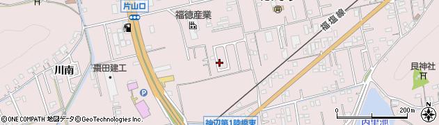 広島県福山市神辺町(川南)周辺の地図