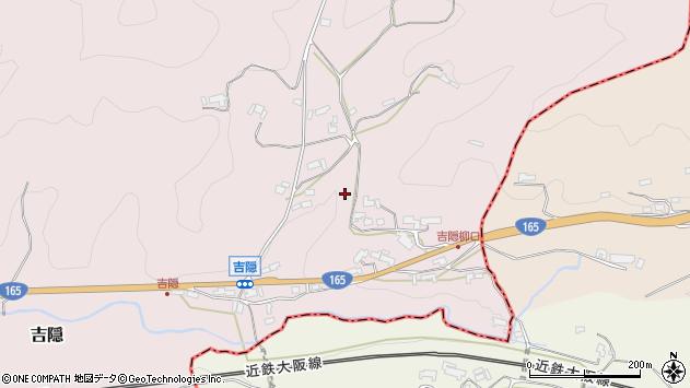 〒633-0111 奈良県桜井市吉隠の地図