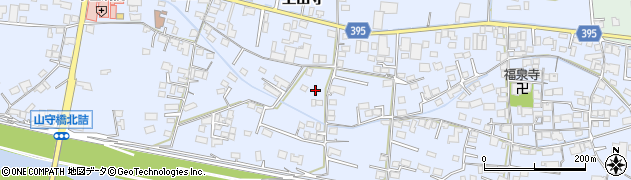 広島県福山市駅家町(上山守)周辺の地図