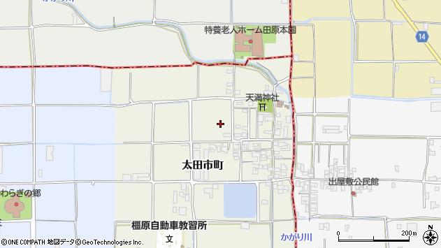 〒634-0001 奈良県橿原市太田市町の地図