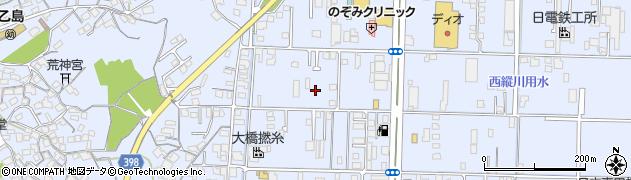 岡山県倉敷市玉島乙島周辺の地図
