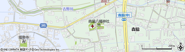 誓蓮寺周辺の地図