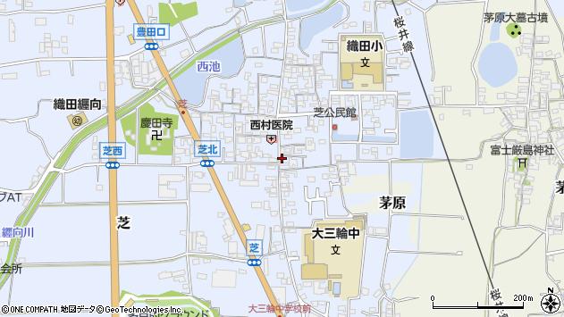 〒633-0074 奈良県桜井市芝の地図