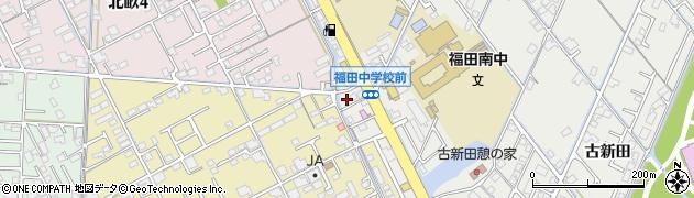 岡山県倉敷市福田町(東塚)周辺の地図