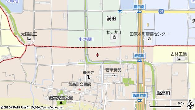 〒634-0847 奈良県橿原市飯高町の地図