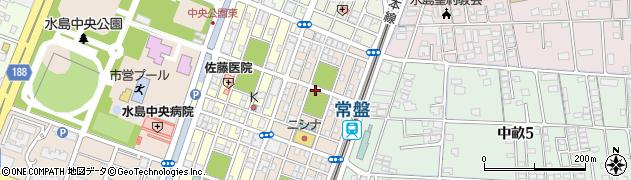 岡山県倉敷市水島東常盤町周辺の地図