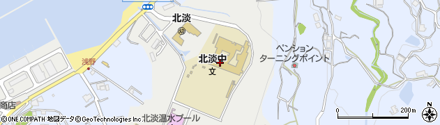 兵庫県淡路市浅野神田周辺の地図