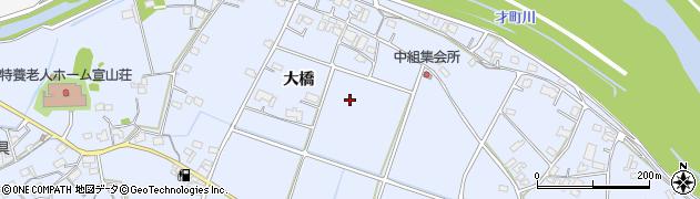 広島県福山市駅家町(大橋)周辺の地図
