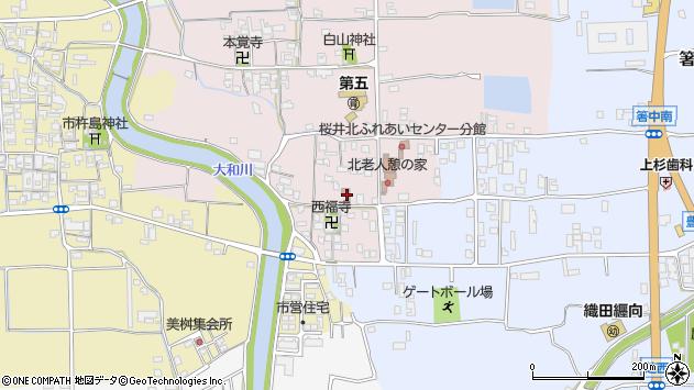 〒633-0079 奈良県桜井市豊田の地図