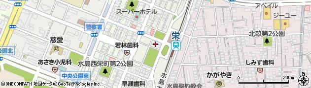 岡山県倉敷市水島東栄町周辺の地図