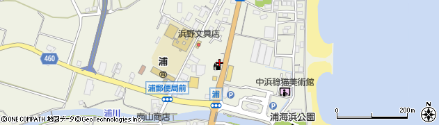 昭和シェル淡路東浦SS周辺の地図