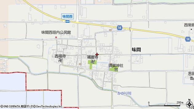 〒636-0245 奈良県磯城郡田原本町味間の地図
