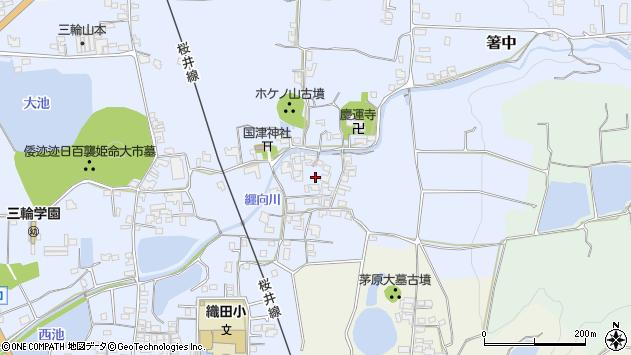 〒633-0072 奈良県桜井市箸中の地図