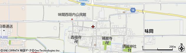 奈良県磯城郡田原本町味間 住所一覧から地図を検索|マピオン