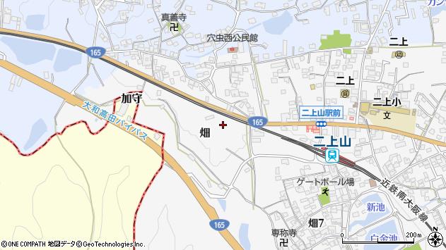 〒639-0245 奈良県香芝市畑の地図