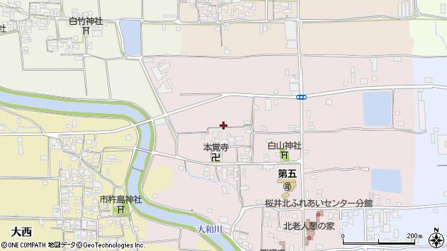 〒633-0078 奈良県桜井市豊前の地図