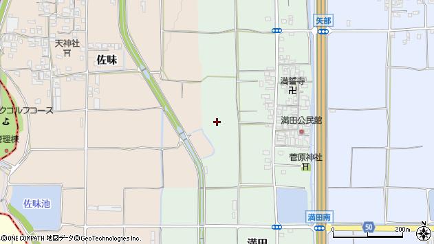 〒636-0354 奈良県磯城郡田原本町満田の地図