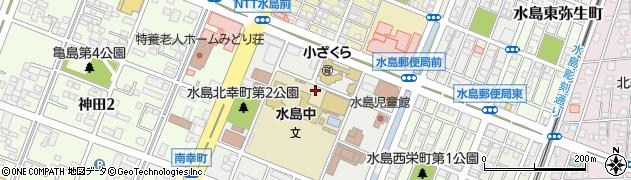 岡山県倉敷市水島北幸町周辺の地図
