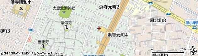 日鉄運輸社宅周辺の地図