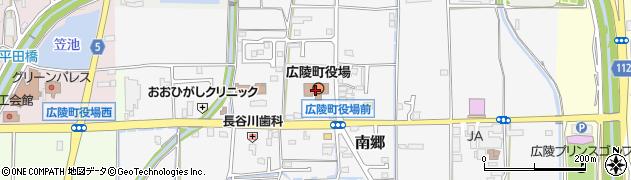 奈良県広陵町(北葛城郡)周辺の地図