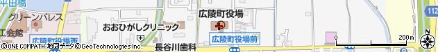 奈良県北葛城郡広陵町周辺の地図