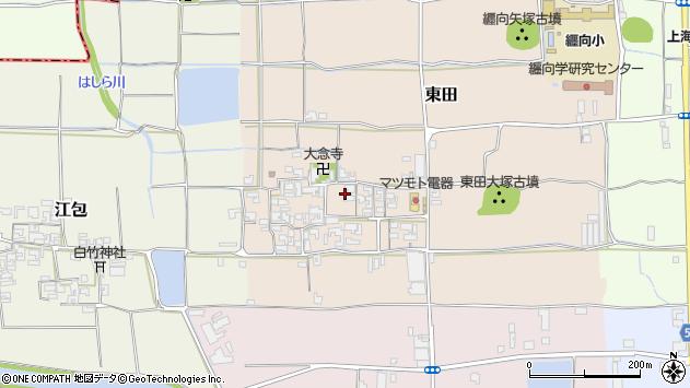 〒633-0085 奈良県桜井市東田の地図