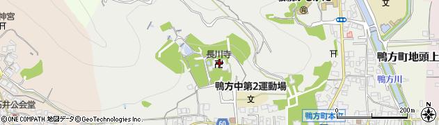 長川寺周辺の地図